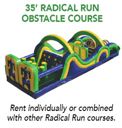 35' Radical Run Obstacle Course