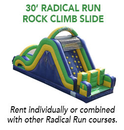 30' Radical Rock Wall Slide