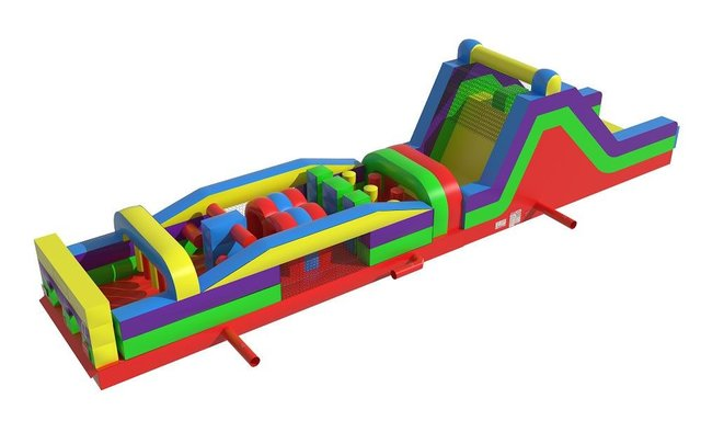 60' Rainbow Obstacle Course