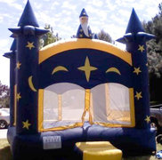 Wizards Bounce House