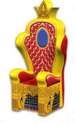 Inflatable Royal Throne