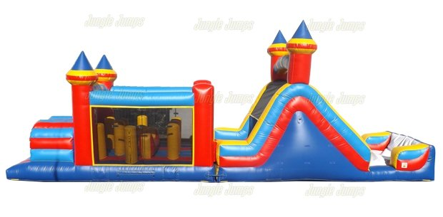 Indoor Obstacle Course Combo 4