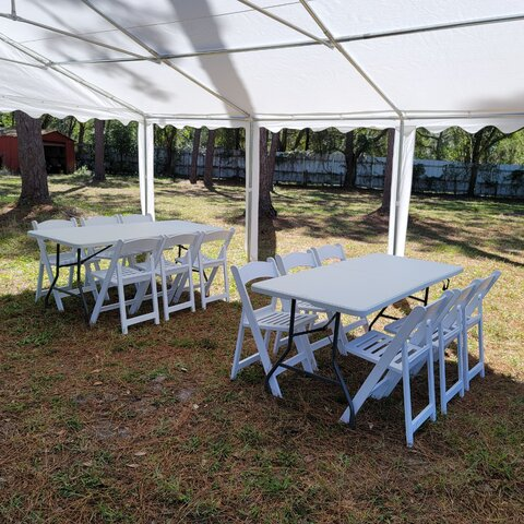 Seating for 12 Party Package
