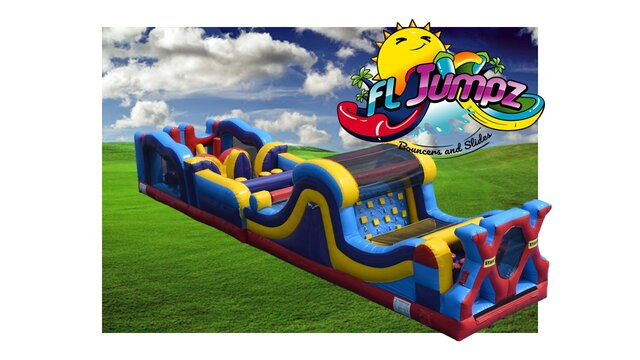 Obstacle Course Multi Color 46ft 2pc