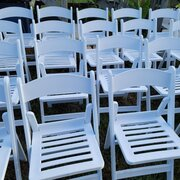 Tent Tables & Chairs Package for 30 Guests
