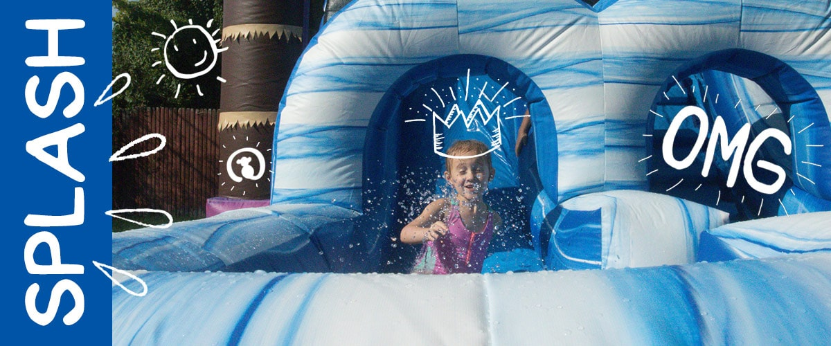 Party Rentals - Inflatable Water Slide Rental in Michigan