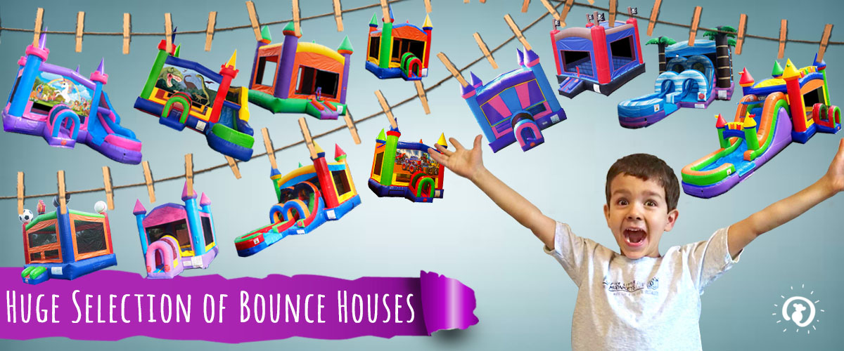 Huge Selection of Bounce House Rentals