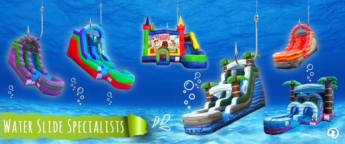 Plymouth's Inflatable Water Slide Rental Specialists
