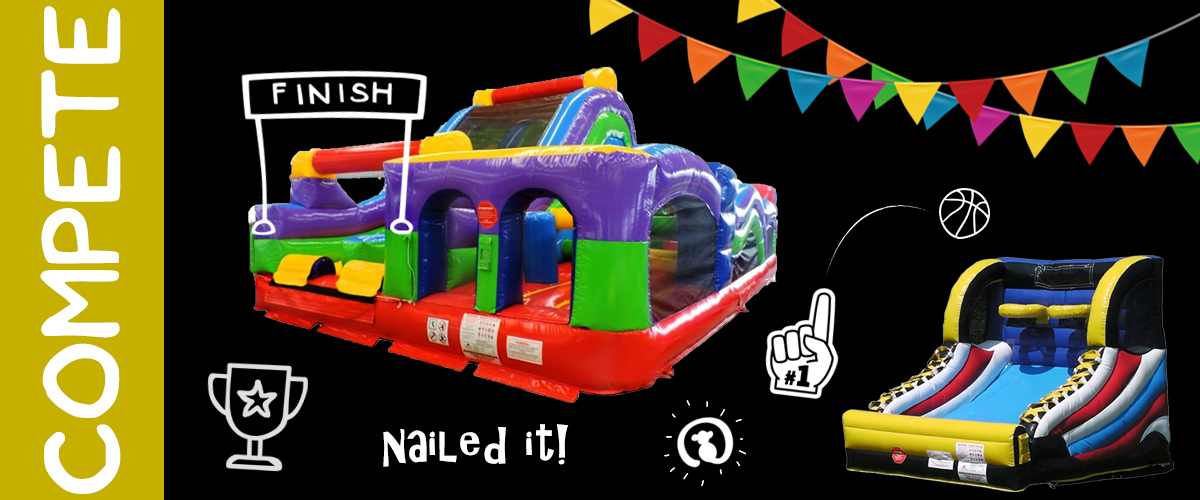 Party Rentals - Obstacle Course and Inflatable Game Rental in Michigan