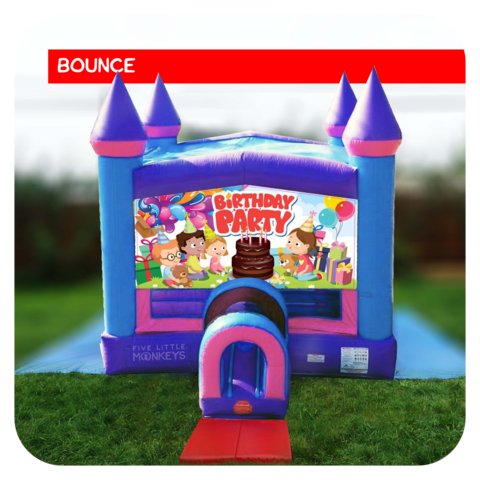 Birthday Girl Bounce House Rental