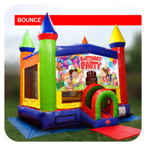 Birthday Party Bounce House Rental