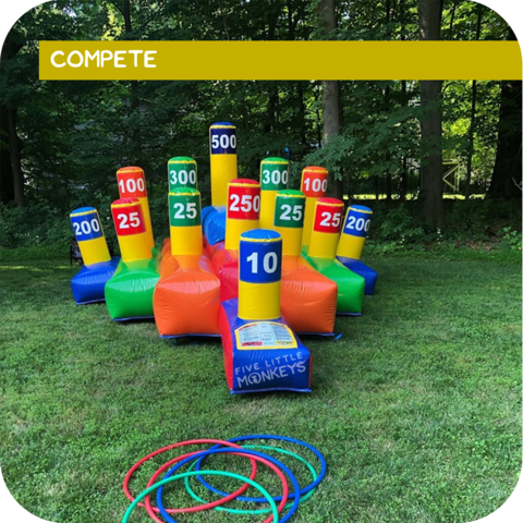 Epic Ring Toss Game Rental