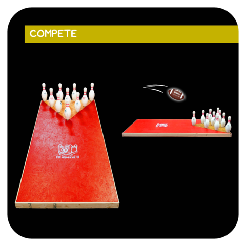 Fowling (Football Bowling) Rental