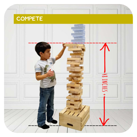 Giant Jenga Game Rental