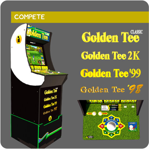 Golden Tee Arcade Game Rental