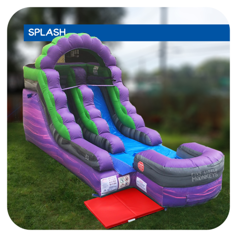 Hulk Splash 13'H Inflatable Water Slide Rental