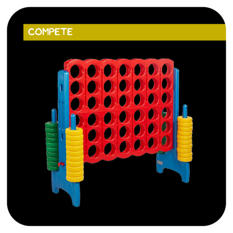 Jumbo Connect 4 Game Rental