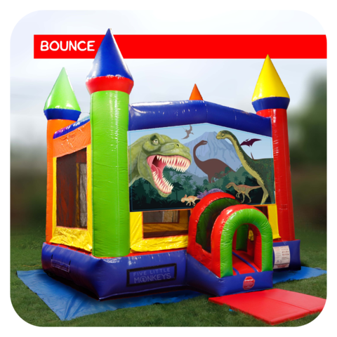 Jurassic Dinosaur Bounce House Rental
