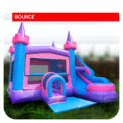 Big Royal Castle Bounce House & Slide Combo