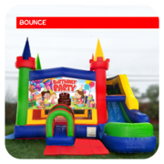 Birthday Party Bounce House & Slide Combo