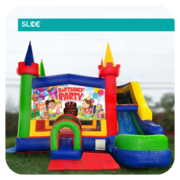 Birthday Party Slide & Bounce House Combo