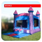Cotton Candy Bounce House