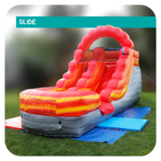 Fire-Breathing Dragon 13'H Inflatable Slide