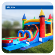 Gumball Splash Jr Water Slide & Bounce House Combo