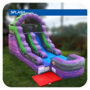 Hulk Splash 13'H Inflatable Water Slide