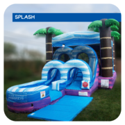 Jamaican-Me-Crazy Jr Water Slide & Bounce House Combo