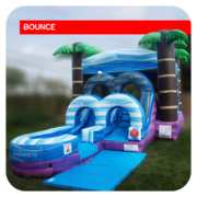 Junior Paradise Bounce House & Slide Combo