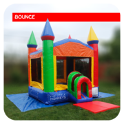Lil' Rainbow Castle Bounce House