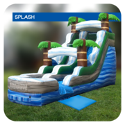 Palm Beach 16'H Inflatable Water Slide