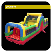 The Spartan Inflatable Obstacle Course