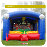 Tricky T-Ball Inflatable Game