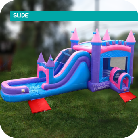 Mega Royal Slide & Bounce House Combo