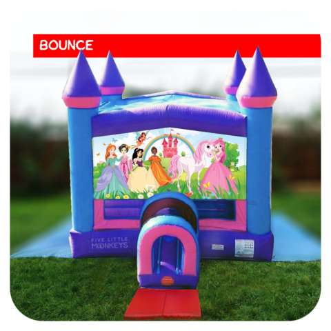 Princess Bounce House Rental