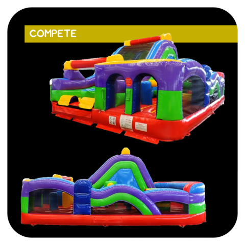 The Gauntlet Inflatable Obstacle Course