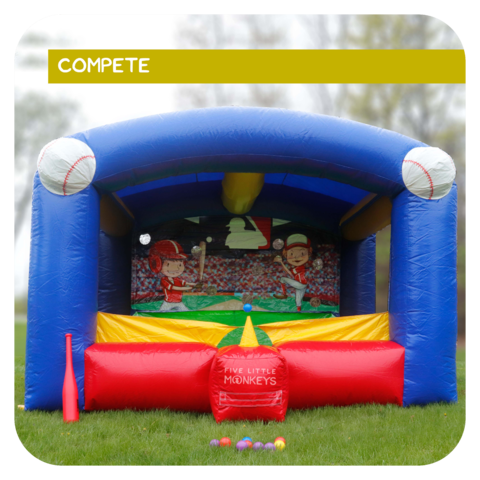 Tricky T-Ball Game Rental