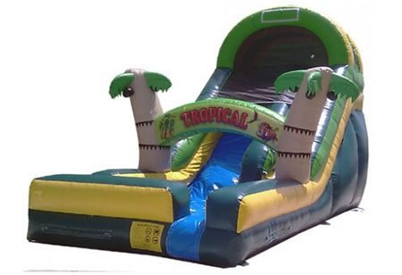 18 ft Tropical Water Slide