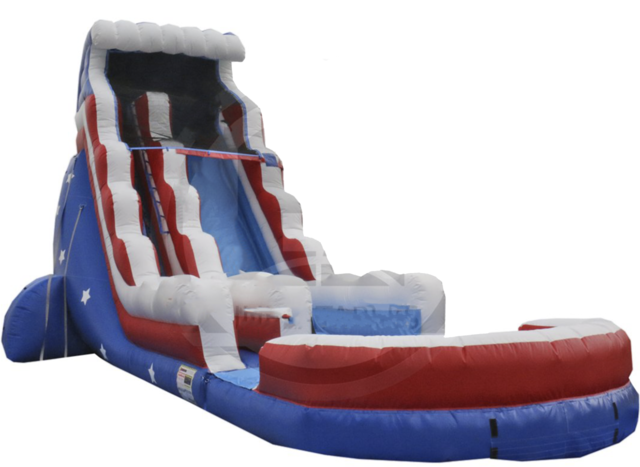 22 ft Stars & Stripes Water Slide