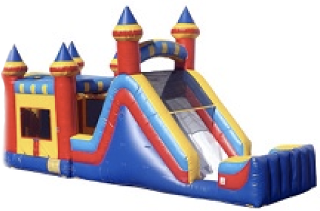 37 ft Royal Bounce Obstacle Course