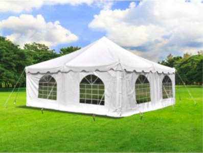 20' X 20' Tent with Sidewalls