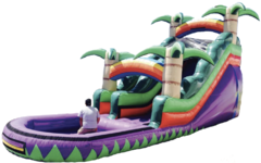 18 ft Purple Paradise Water Slide