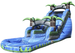 18 ft Blue Crush Water Slide
