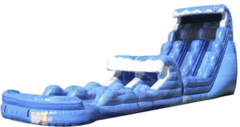 22 ft Tsunami Water Slide w/ Slip-n-Dip