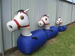 (3) Pony Hops Small Ages 3-6