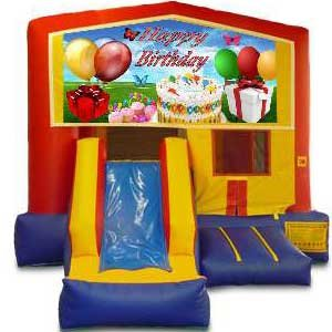 Happy Birthday Bounce and Slide