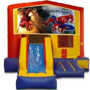 Spiderman Bounce and Slide