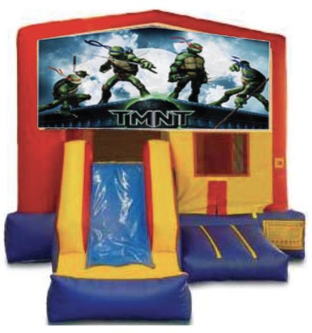 Ninja Turtles Bounce and Slide